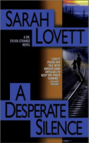 Cover of A Desperate Silence by Sarah Lovett