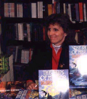 Janny at a book signing