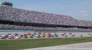The start of the Talladega 500, April 22, 2001
