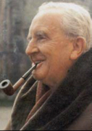 Author J.R.R. Tolkien.