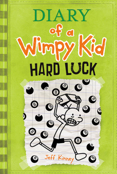 Wimpy Kid Book 8 Revealed as Diary of a Wimpy Kid: Hard Luck
