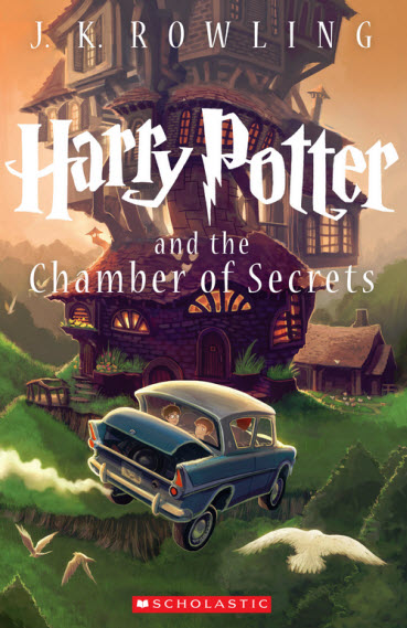 New Book Cover for Harry Potter and the Chamber of Secrets