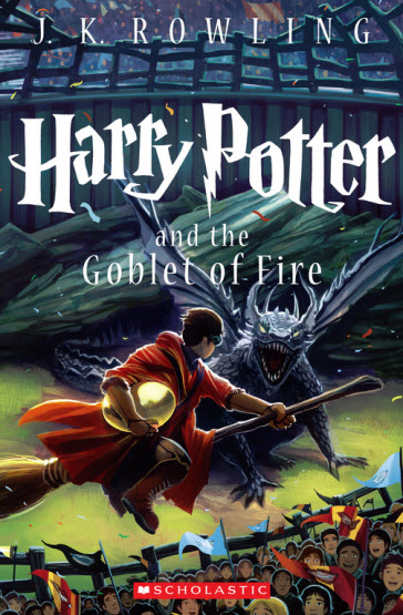 Harry Potter and the Goblet of Fire cover illusted by Kazu Kibuishi