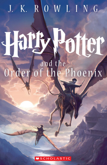 Harry Potter and the Order of the Phoenix cover illusted by Kazu Kibuishi