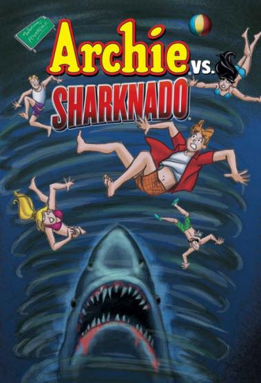 Archie vs Sharknado cover