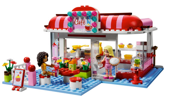 Lego Friends cafe set