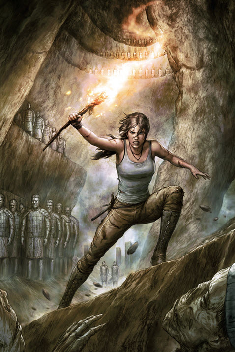 Tomb Raider 2016 from Dark Horse Comics