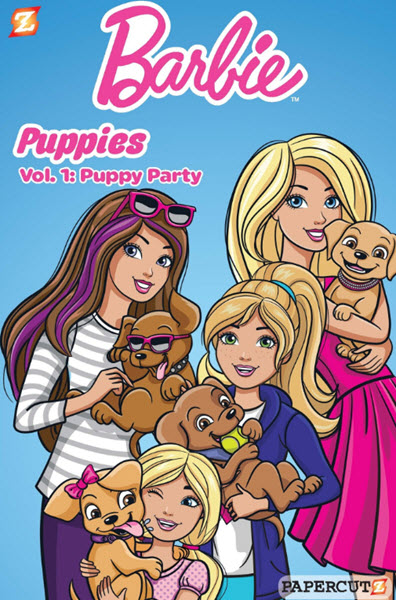 Barbie Puppies: Puppy Party graphic novel