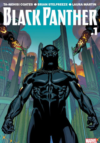 Marvel Releases New Black Panther Comic