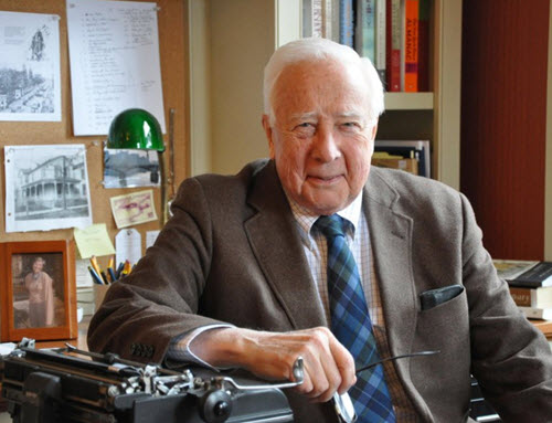 David McCullough to Publish Book About American Pioneers in 2019