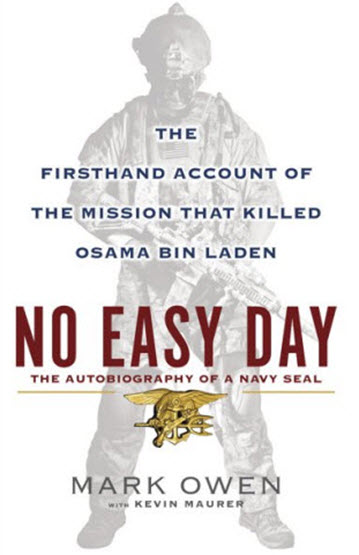 No Easy Day cover art