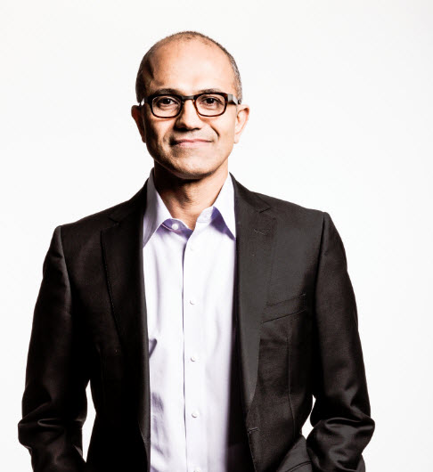 Microsoft CEO Satya Nadella to Publish Book With HarperCollins