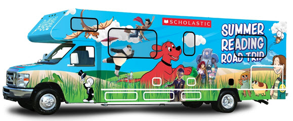 Scholastic Announces Summer Reading Road Trip
