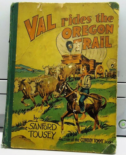 Val Rides the Oregon Trail