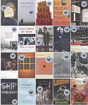 2010 National Book Award Finalists
