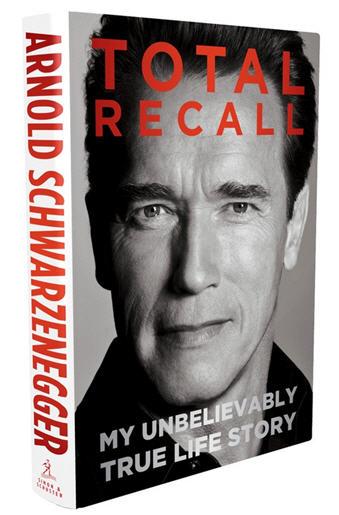 Arnold Schwarzenegger Total Recall Cover