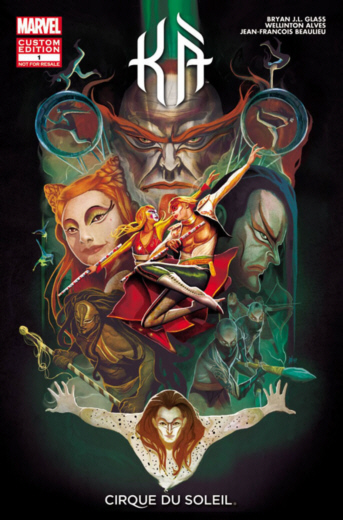 KA by Cirque du Soleil Comic