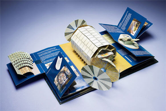 Large Hadron Popup Book