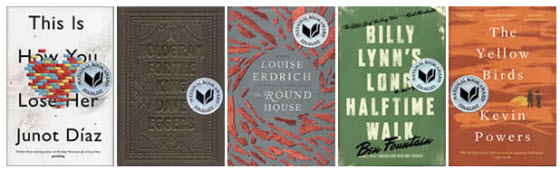 2012 National Book Awards Fiction Finalists