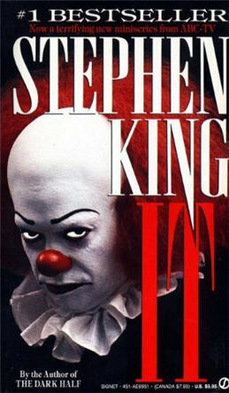 Stephen King It Cover