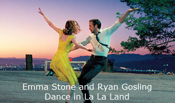 Emma Stone and Ryan Gosling Dance on Air in First La La Land Trailer